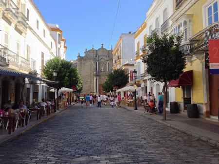 A street inTarifa's beautiful old town