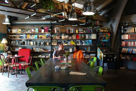 Soma Book Station is the coolest bar in Pristina