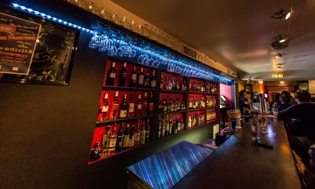The Shapko Bar in Nice is well known for its love of jazz and blues