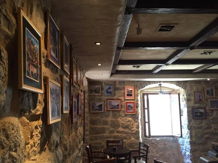 The interior of Old Town Pub in Kotor, Montenegro