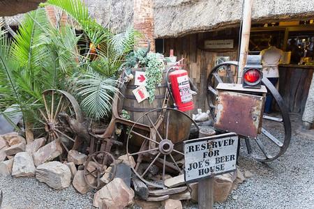 Joe's Beer House in Namibia