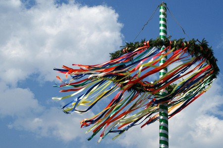 Maibaum (May Tree), a German tradition