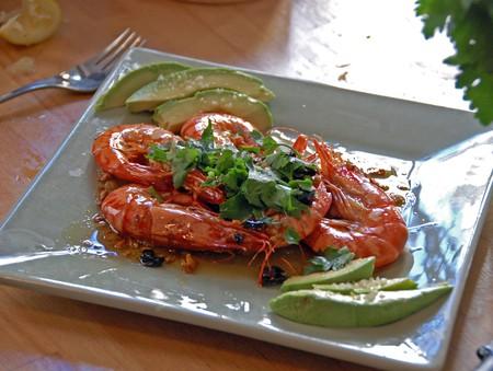 Fresh prawns are a staple on most menus in Tarifa