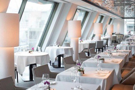 Michelin-star restaurantAngler is the place to go for seafood in Central London