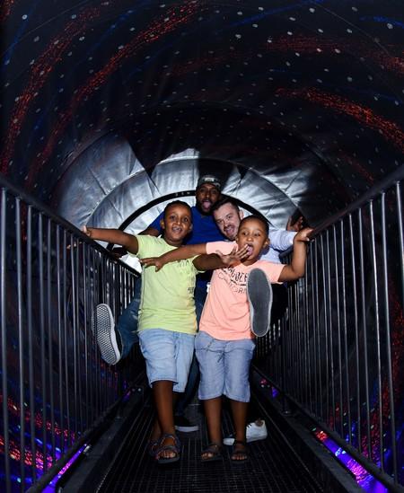 The Vortex Tunnel at the Museum of Illusions Dubai