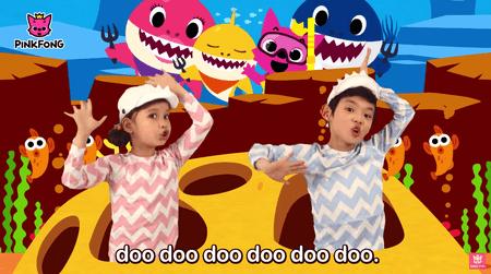 The 'Baby Shark' dance
