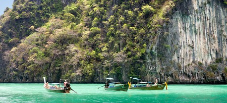 Take a boat out into Phang Nga Bay to enjoy a different view of Phuket