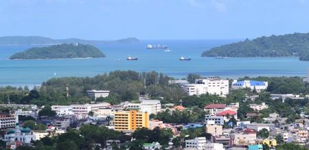 View of Phuket, Thailand.
