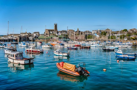 Penzance is a seaside town in Cornwall, England, that's perfect for outdoor adventurists