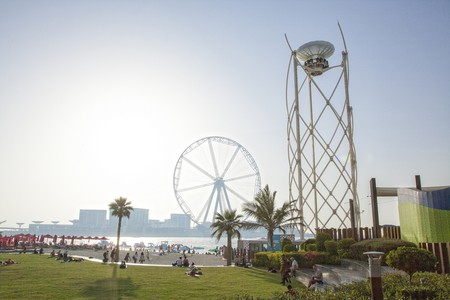 The Flying Cup and Ain Dubai