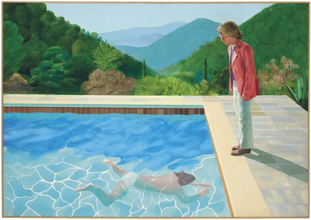 David Hockney – 'Portrait of an Artist (Pool With Two Figures)' (1972)
