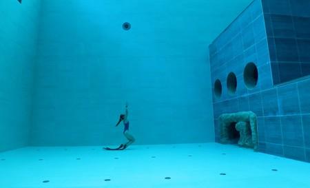 Deep Joy Y-40 in Venice, the world's deepest pool