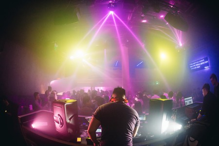 A cool, underground club in Singapore