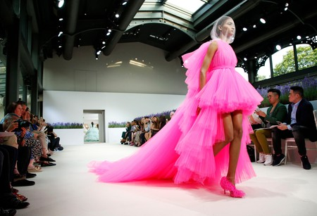 Giambattista Valli show, fall/winter 2018, Haute Couture Fashion Week