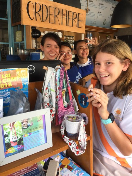 Sage's ToGo Bags were first stocked at Dolphy Cafe in District 2   © Courtesy of Sage's ToGo Bags