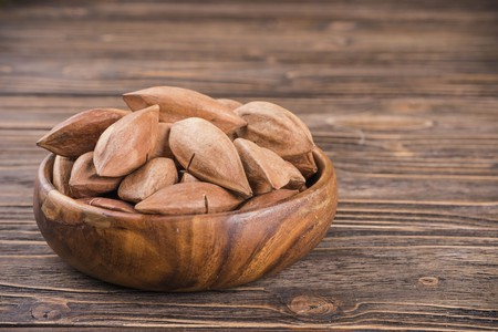 Pili nuts have a rich buttery taste and are a complete protein.