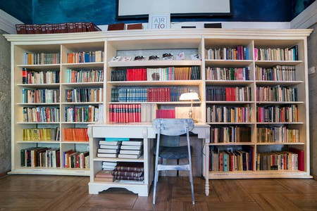 Pick up a book or two at Podgorica's Soba