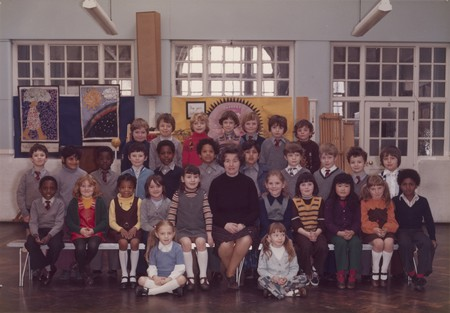Steve McQueen Year 3 class at Little Ealing Primary School, 1977