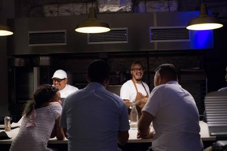 Chefs Jose de Jesus (right) and Christopher Cedeño lead Breaking Bread Kitchen