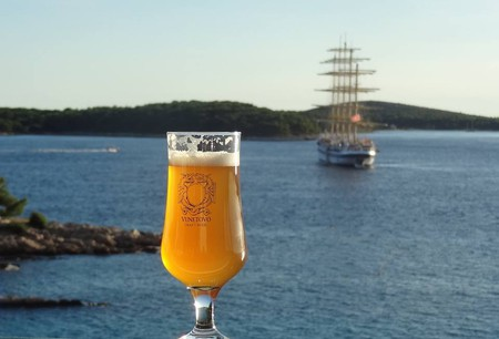 An idyllic spot for a delicious beer