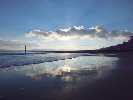 One of Bournemouth's breathtaking beaches