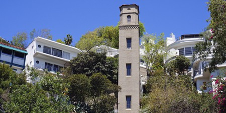High Tower in Hollywood Heights, Los Angeles.