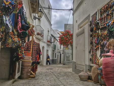 Souvenir shops in Tarifa, Spain