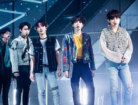 K-Pop stars BTS