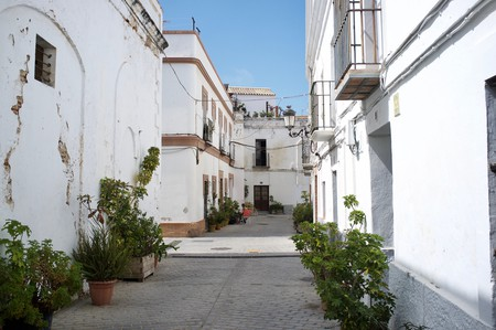 A street in the old part of Tarifa, southern Spain