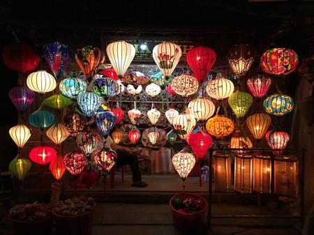 A beautiful lantern display