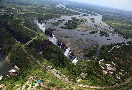 Victoria Falls is one of the most visited tourist attractions in Africa