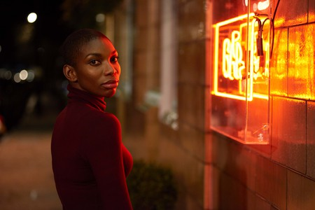 Michaela Coel sings in the musical 'Been So Long'