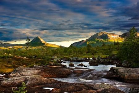 Blåfjella–Skjækerfjella National Park