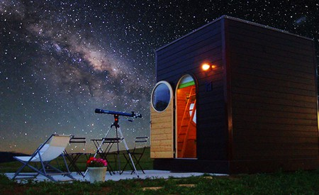 Carré d'étoiles were created for the sole purpose of stargazing | © AbracadaRoom