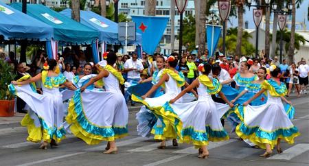 Festival time in Aruba