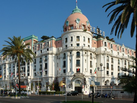 Hôtel Le Negresco is arguably Nice's best-known hotel