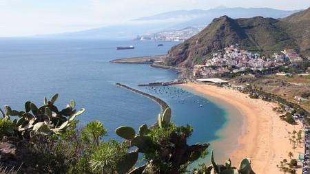 Playa de las Teresitas, in the north of Tenerife