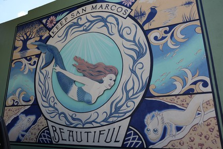 Mermaids have become local icons in San Marcos, Texas