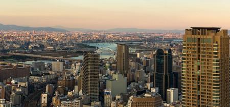Osaka Skyline, Japan.