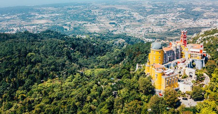 Several of Sintra's hotels make great bases for exploring attractions like the Pena Palace