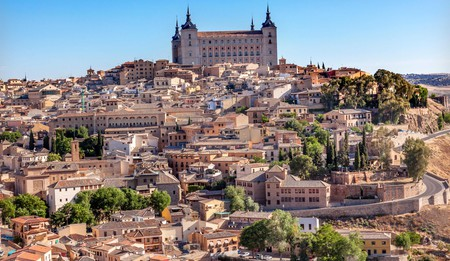 Alcazar Fortress, Medieval City, Toledo, Spain