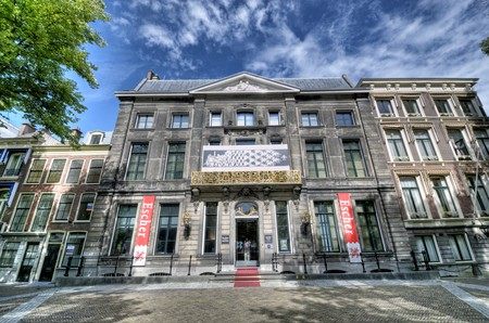 The M. C. Escher Museum in The Hague, Netherlands