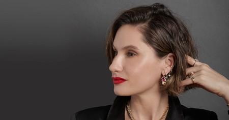 Jewelry designer, Scosha of the eponymous line