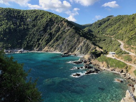 The stunning island of Skopelos is the backdrop to the Mamma Mia! films
