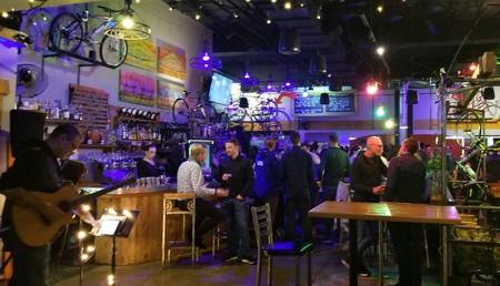 The HandleBar Cafe interior