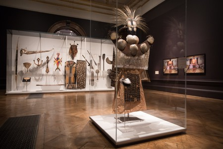 Installation view of 'Oceania' (2018) at the Royal Academy of Arts