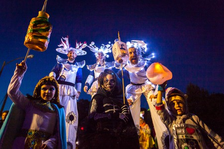Baltimore's Great Halloween Lantern Parade and Festival is an all-ages spectacle