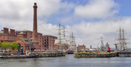 Mersey River, Liverpool