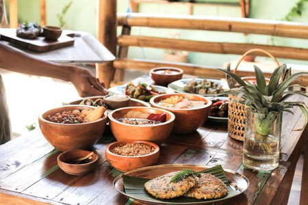 Healthy food at Pituq