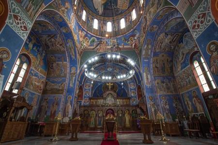 Birmingham's beautiful Serbian Orthodox Church